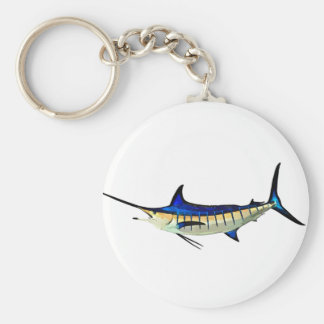 Customize this Marlin with your Boat Name Keychain