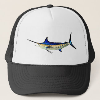 Customize this Marlin with your Boat Name Trucker Hat