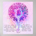 Customize this Poster - Pink Yoga Yin Yang