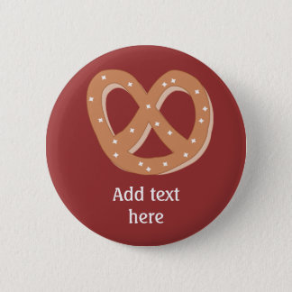 Customize this Pretzel Knot graphic 2 Inch Round Button