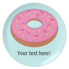 Customize this Ring Doughnut Graphic Plate