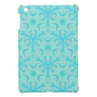 Customize Turquise Cool Seamless Pattern Backgroun iPad Mini Case