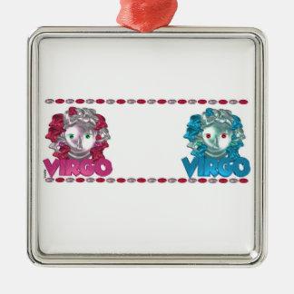 Customize Valxart  Virgo Virgo friendship Metal Ornament