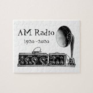 Customize Vintage AM Radio Receiver Jigsaw Puzzle