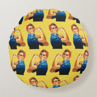 Customize We can do it Round Pillow