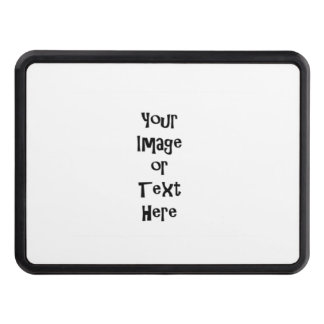Customize with personalized pictures and text hitch cover