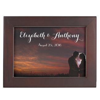 Customize with Photos Wedding Keepsake Box