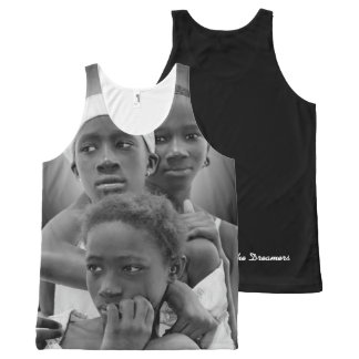 Customize Women Tank , African Women, Art Design