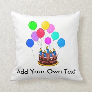 Customize Your Own Birthday Pillow! Throw Pillow