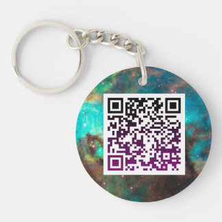 Customize your own Bitcoin Crypto QR Code Keychain