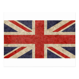 Customize Your Own: British Flag Postcard