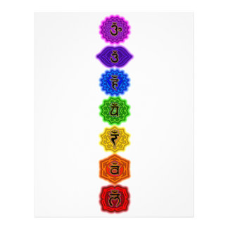 Customize Your Own Chakra Products Letterhead
