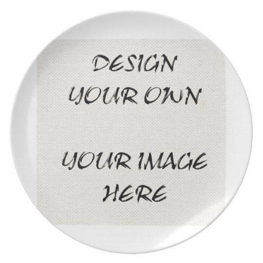Customize Your Own Display Plate