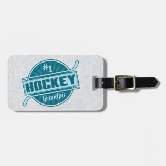 Customize Your Own Hockey Grandpa Luggage Tag