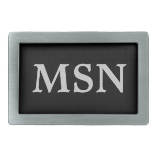 Customize your own initials Belt Buckle