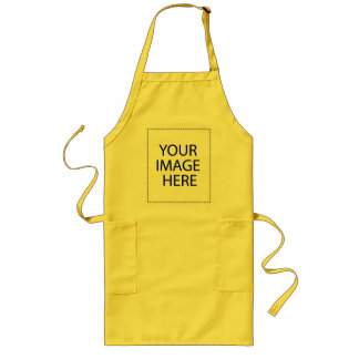 Customize your own long apron