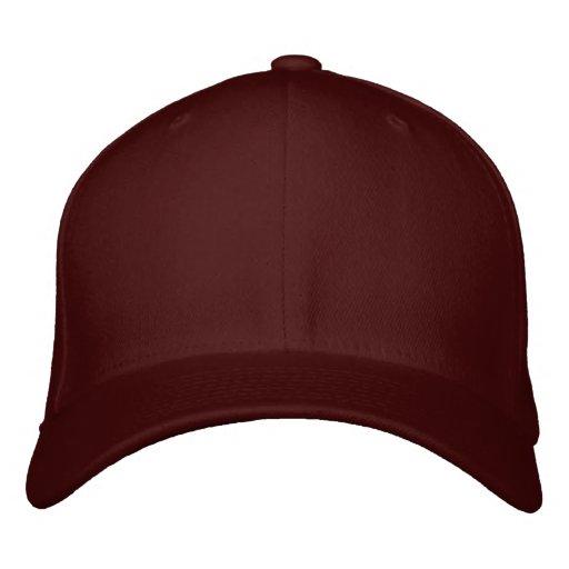 Customize Your Own Maroon Adjustable Baseball Cap
