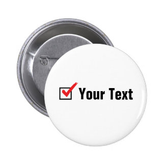 Customize Your Own Social Status - Personal Ad 2 Inch Round Button