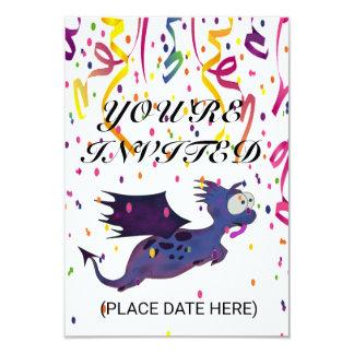 CUSTOMIZE YUPI DINO INVITATION CARDS