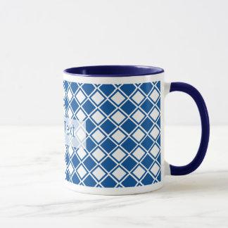 Customizeable Blue Diamond Kitchen Products Mug