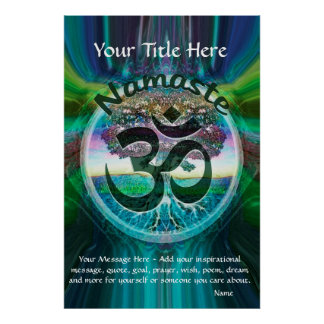 CustomizeABLEs - Namaste Poster