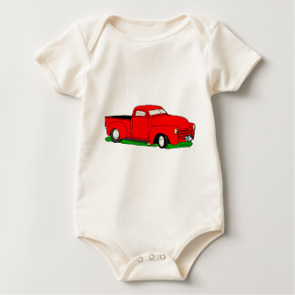 Customized 1950 Chevy Pickup Baby Bodysuit