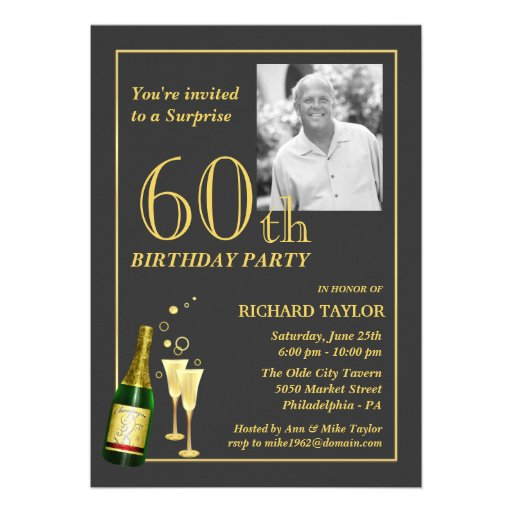60Th Birthday Invitation is the best ideas you have to choose for invitation example