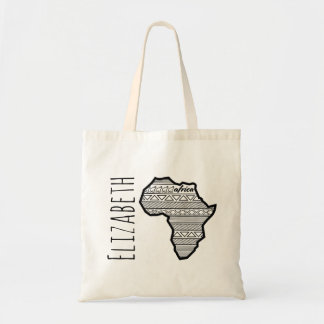 Customized Africa Tote Bag