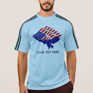CUSTOMIZED AMERICAN FLAG EAGLE - MAKE YOUR OWN T-Shirt