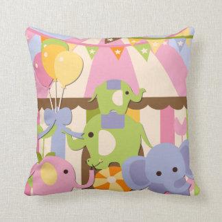 Customized Baby Circus Pillow