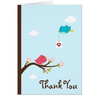 Customized*Birdie Love Thank You Card