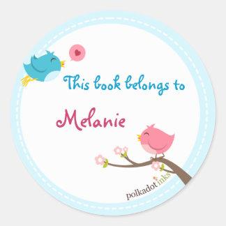Customized Birdie Stickers Book
