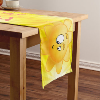 Customized Birthday Day party kids table runner