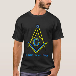 Customized Blue Lodge T-Shirt