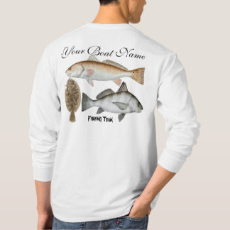 Custom boat men 39 s shirts custom boat men 39 s teescustom for Fishing team names