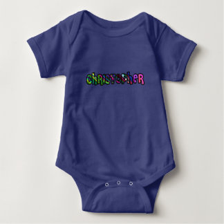 Customized body you drink Christopher Baby Bodysuit