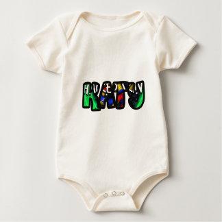 Customized body you drink Katy Baby Bodysuit