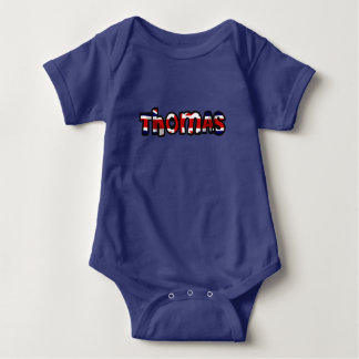 Customized body you drink Thomas Baby Bodysuit