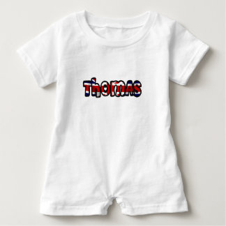 Customized body you drink Thomas Baby Romper