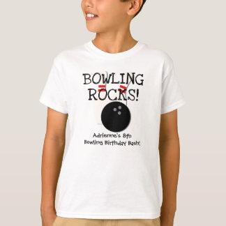 Customized Bowling Birthday T-shirt