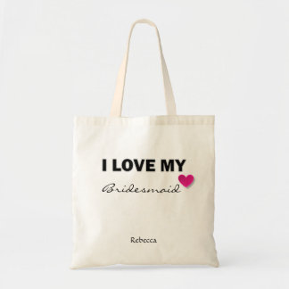 Customized Bridesmaid Tote Gift Bag