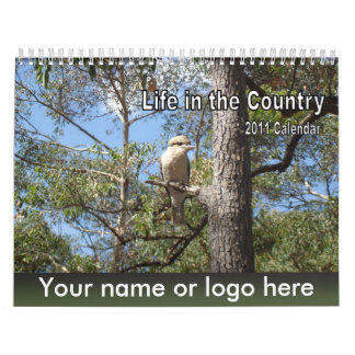 Customized Calendar - Country Scenes