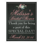Customized Chalk Bridal Shower Sign, Bridal Poster