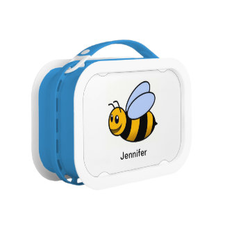 Customized Cute Bumblebee Lunch Box