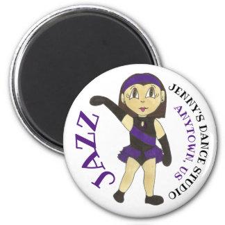 Customized Dance Studio JAZZ Dancer Teacher School Magnet
