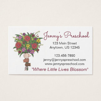 Customized Daycare Preschool Teacher Camp Cards