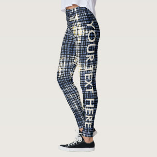 Customized Denim fablic Leggings