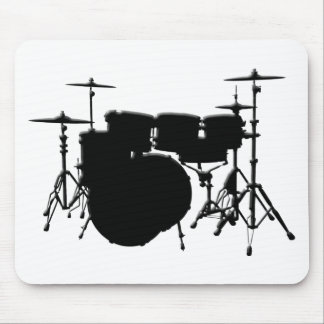 Customized Drum Set Mouse Pad