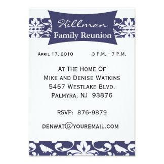 Customized Family Reunion Invitation