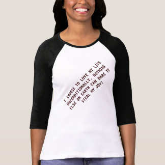 Customized Female Unconditional Love Gift T-Shirt. T-Shirt